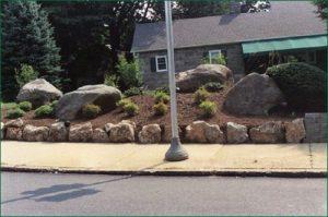 street side landscape design