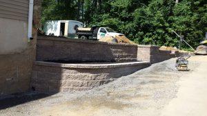 bensalem pa retaining wall replacement