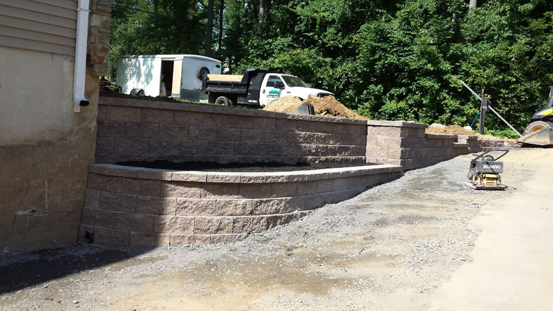 bensalem pa retaining wall replacement