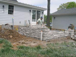 yardley blue stone patio install