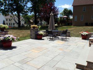 yardley pa blue stone patio