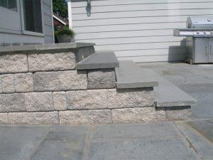 blue stone step install yardley pa