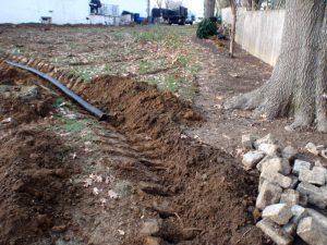 bucks county french drain system