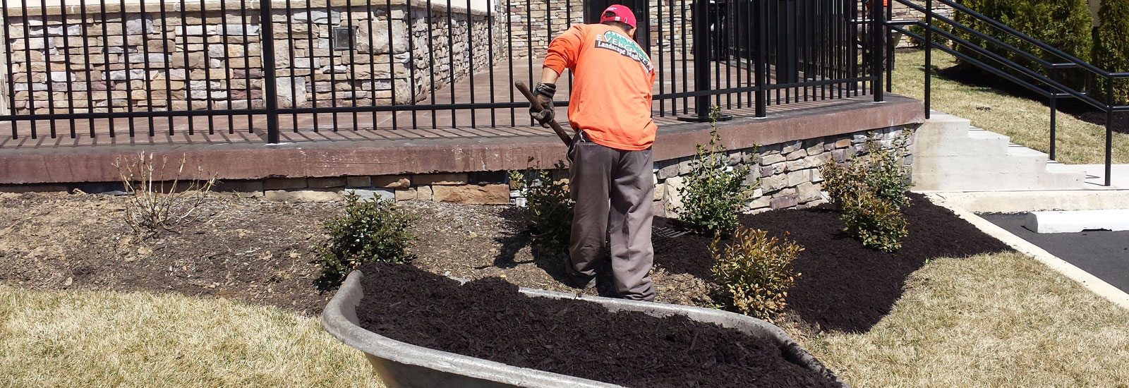 bucks county mulching spring cleanups