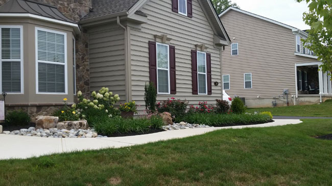 bucks county new construction landscaper