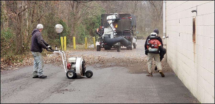 bucks county spring clean up landscaper