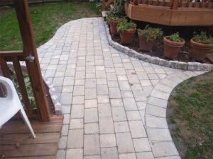 stone walkway installation bensalem pa