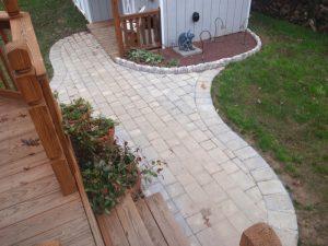 stone walkway install bensalem pa