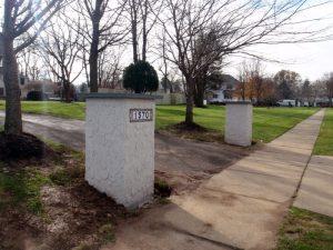 driveway columns company bucks county
