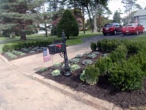 driveway planting designer bucks county