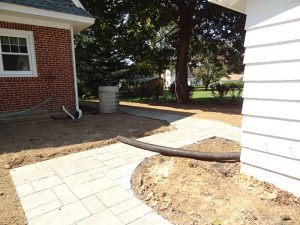 paver walkway construction langhorne manor