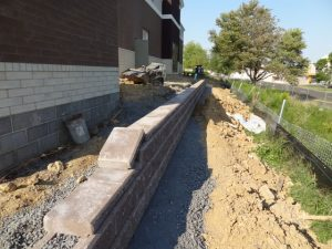 commercial retaining wall builder langhorne