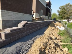 commercial retaining wall contractor langhorne