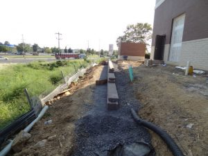 commercial retaining wall langhorne pa