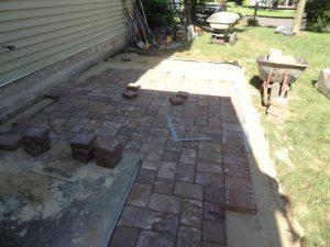 bensalem stone patio installation
