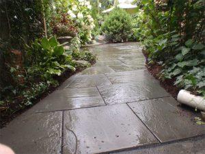 bluestone patio install lambertville nj