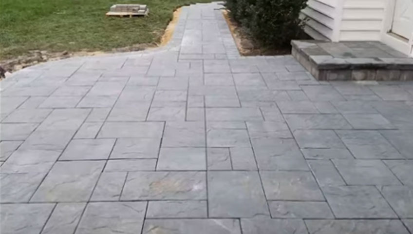 paver patio washingtons crossing pa