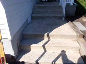 pa bluestone step install feasterville
