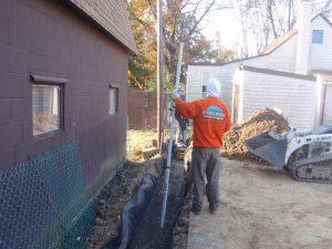 retaining wall construction company philly