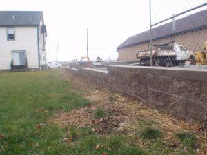 commercial retaining wall philadelphia