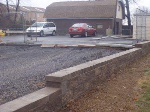 philadelphia commercial retaining wall contractor
