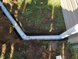 residentail drainage installation bucks county