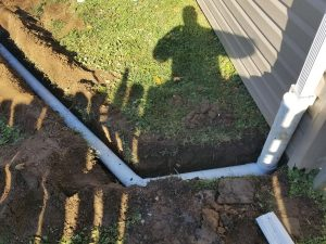 residentail drainage pipes bucks county