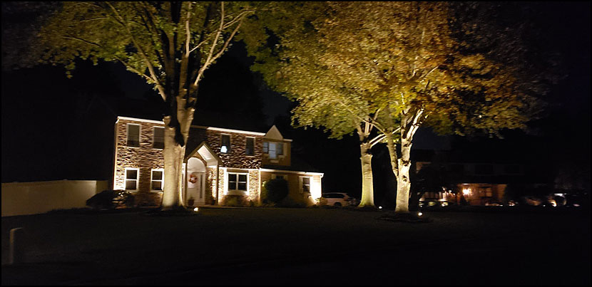 residential property lighting bucks county