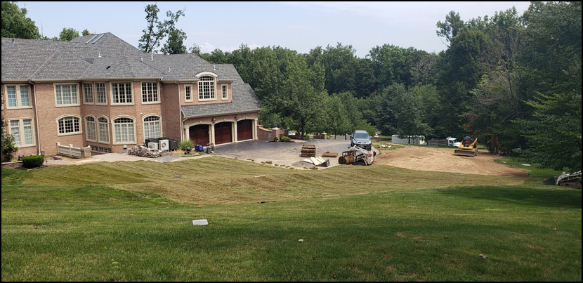 residential sod installation bucks county