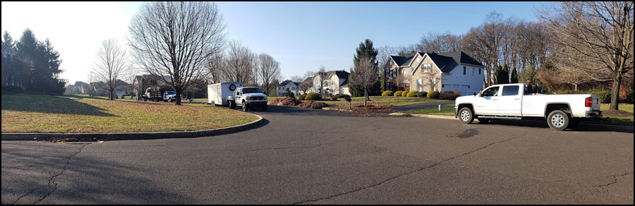 spring clean up contractor bucks county