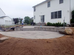 bluestone patio installation richboro