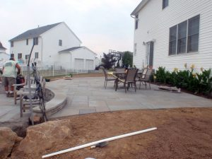 richboro pa bluestone patio design