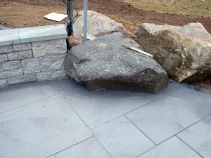 richboro pa bluestone patio install