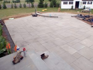 richboro pa bluestone patio installation