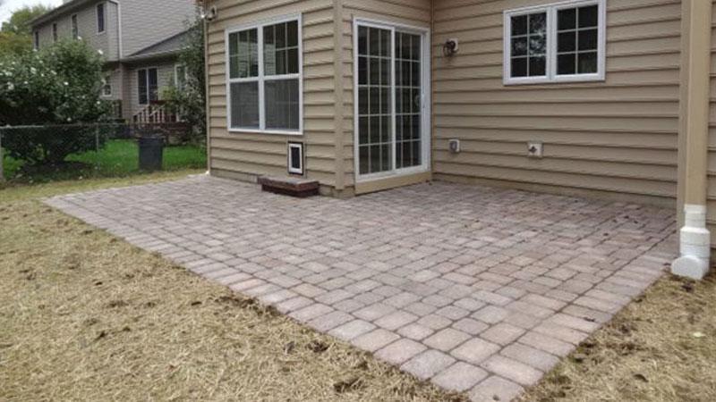 warrington pa concrete paver patio installation