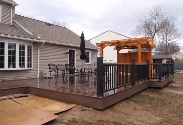 composite deck construction yardley